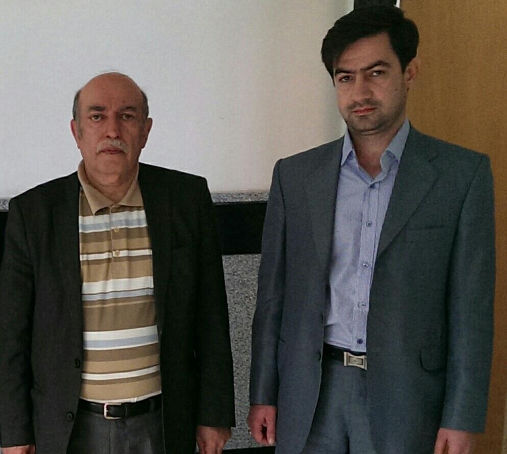 دکتر ایلیا(حسین محمدی مبارز)      –                  پرفسور سیروس شمیسا