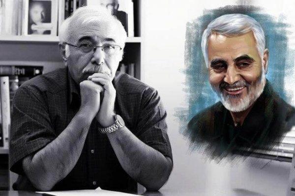 استاد محمدعلی بهمنی(شاعر) و سپهبد سلیمانی