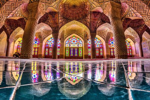 رنگ در ایران باستان
